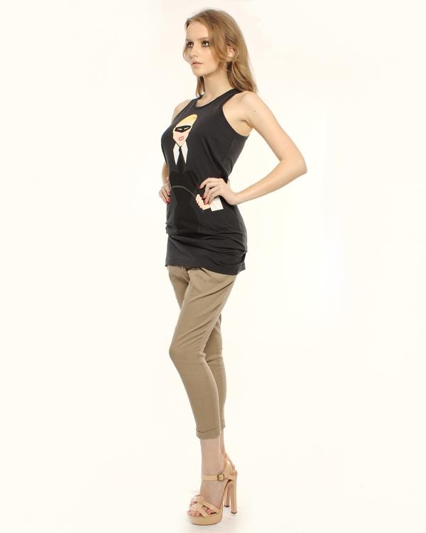 женская платье ONE-T-SHIRT, сезон: лето 2012. Купить за 3100 руб. | Фото 3