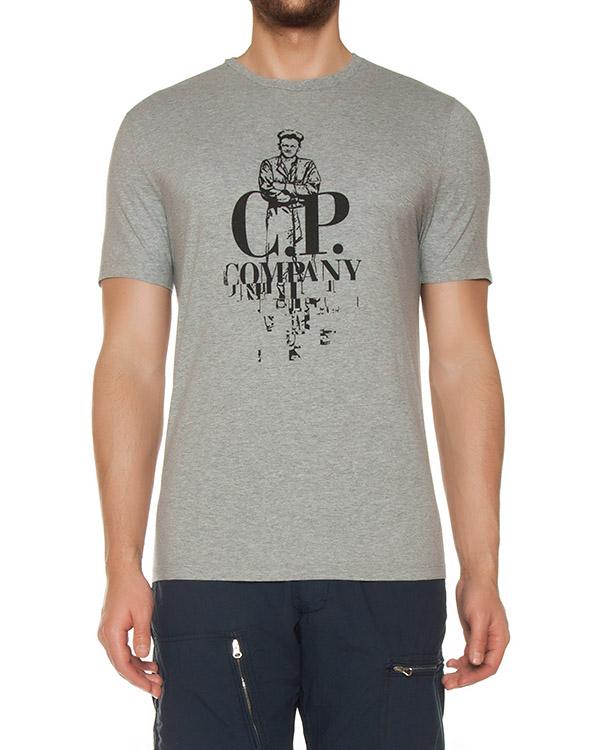 футболка  артикул 02CMTS177A марки C.P.Company купить за 3200 руб.