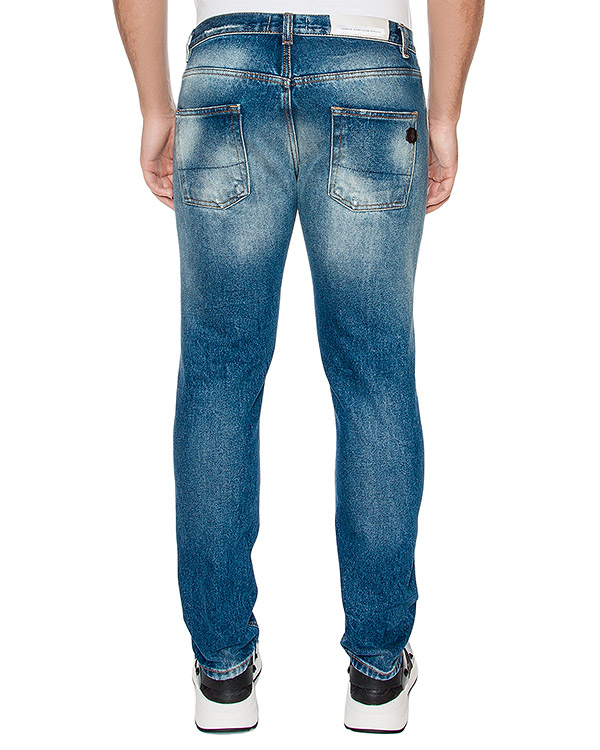 мужская джинсы P.M.D.S, сезон: зима 2016/17. Купить за 7400 руб. | Фото 2