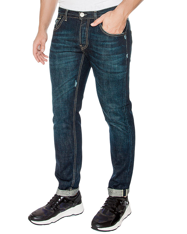 мужская джинсы P.M.D.S, сезон: зима 2016/17. Купить за 11400 руб. | Фото 1