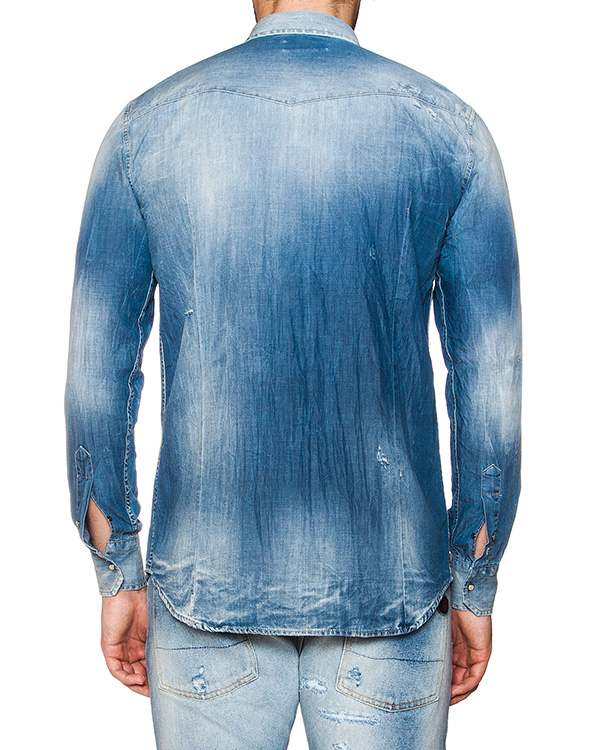 мужская рубашка P.M.D.S, сезон: лето 2016. Купить за 7100 руб. | Фото 2