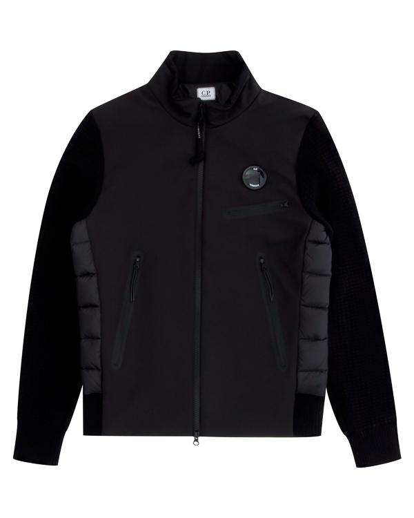 куртка из комбинированного материала артикул 03CMKN149A марки C.P.Company купить за 35000 руб.