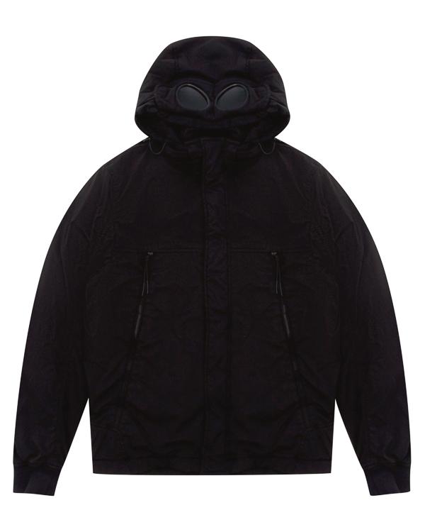 куртка с капюшоном и фирменными декоративными линзами артикул 03CMOW002A марки C.P.Company купить за 47100 руб.