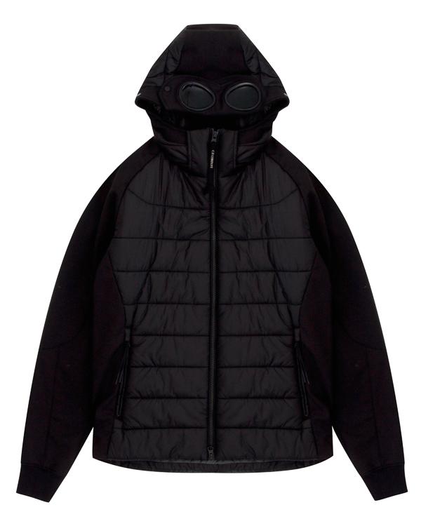 куртка с рукавами из плотного неопрена  артикул 03CMOW024A марки C.P.Company купить за 26000 руб.