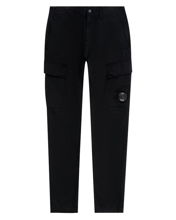 брюки прямого силуэта из плотного хлопка  артикул 03CMPA131A марки C.P.Company купить за 16900 руб.