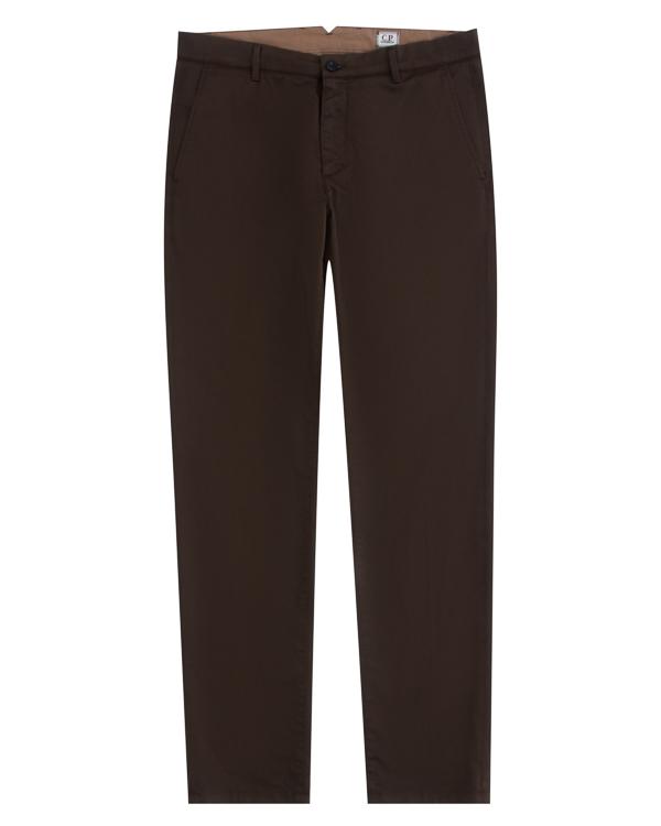 брюки прямого силуэта из плотного хлопка артикул 03CMPA133A марки C.P.Company купить за 13500 руб.