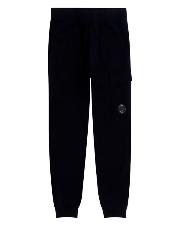брюки спортивного кроя из трикотажного хлопка артикул 03CMSS053A марки C.P.Company купить за 9700 руб.