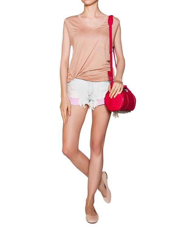женская шорты Alexander Wang, сезон: лето 2016. Купить за 12400 руб. | Фото 3