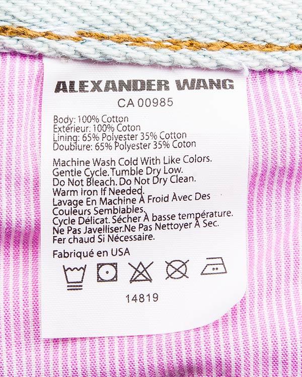 женская шорты Alexander Wang, сезон: лето 2016. Купить за 12400 руб. | Фото 5