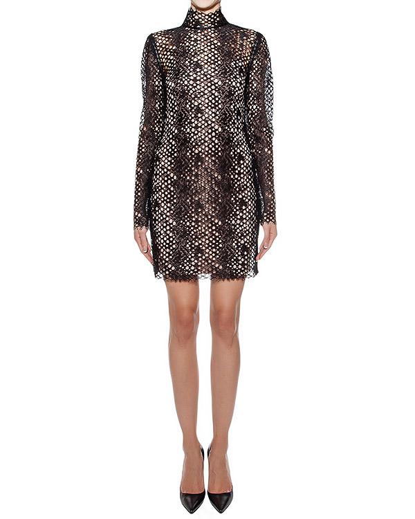 платье приталенного кроя с перфорацией артикул 106852P16 марки Alexander Wang купить за 38200 руб.