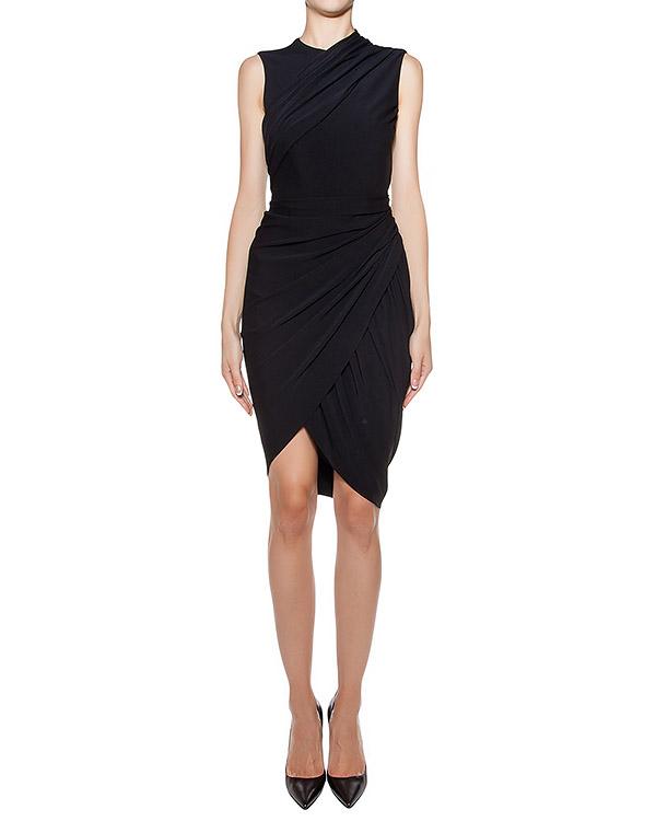 платье асимметричного кроя с драпировкой артикул 106854P16 марки Alexander Wang купить за 28100 руб.