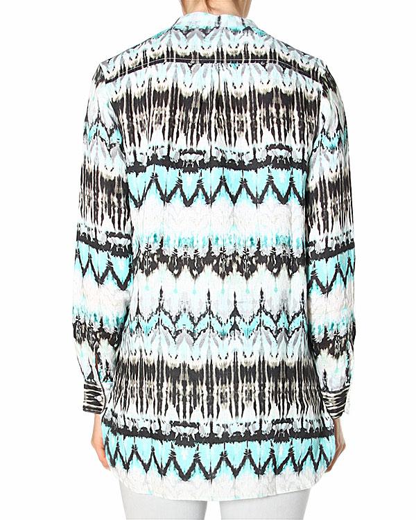 женская рубашка 120% lino, сезон: лето 2015. Купить за 8400 руб. | Фото 2