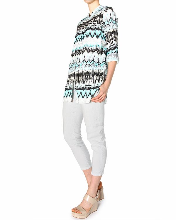 женская рубашка 120% lino, сезон: лето 2015. Купить за 8400 руб. | Фото 3
