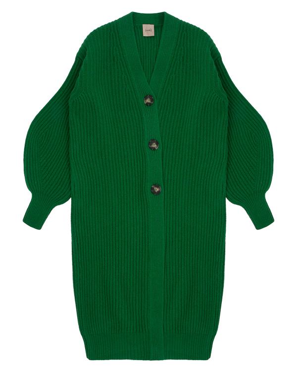 пальто из вязаной шерсти с объемными рукавами артикул 1101051 марки Nude купить за 27700 руб.