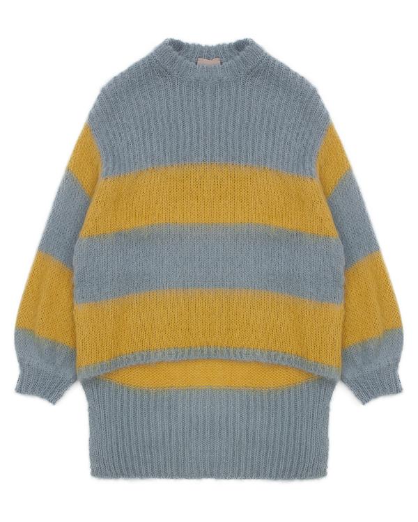 свитер удлиненного силуэта из шерсти альпаки  артикул 1101073 марки Nude купить за 18900 руб.