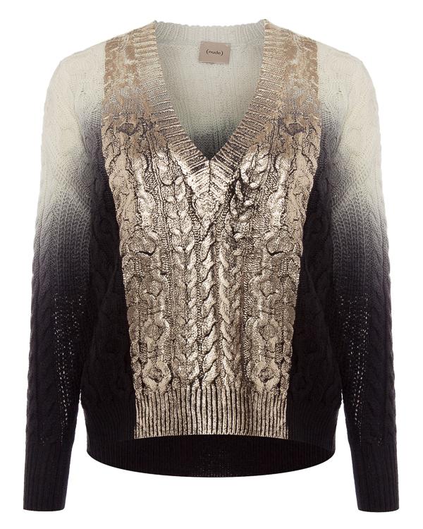 пуловер из шерсти с градиентным окрасом артикул 1101089 марки Nude купить за 30800 руб.