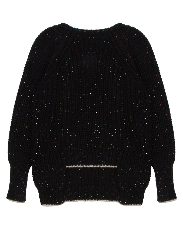 свитер крупной вязки с вырезом на спине  артикул 1101091 марки Nude купить за 19100 руб.