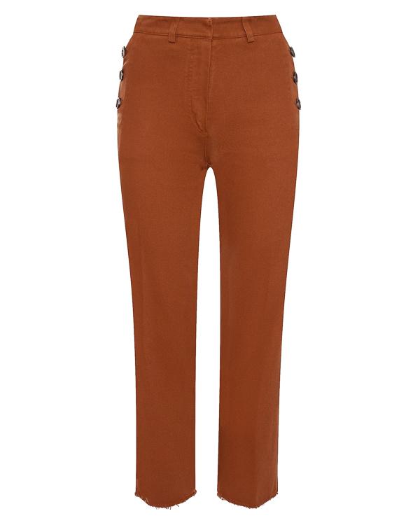 брюки укороченного силуэта из плотного хлопка  артикул 1103031 марки Nude купить за 20500 руб.