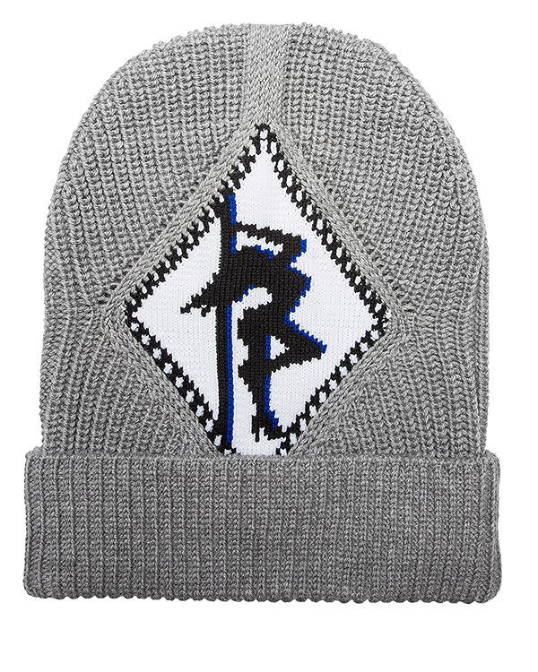 шапка из мериносовой шерсти с рисунком артикул 111062P16 марки Alexander Wang купить за 12700 руб.