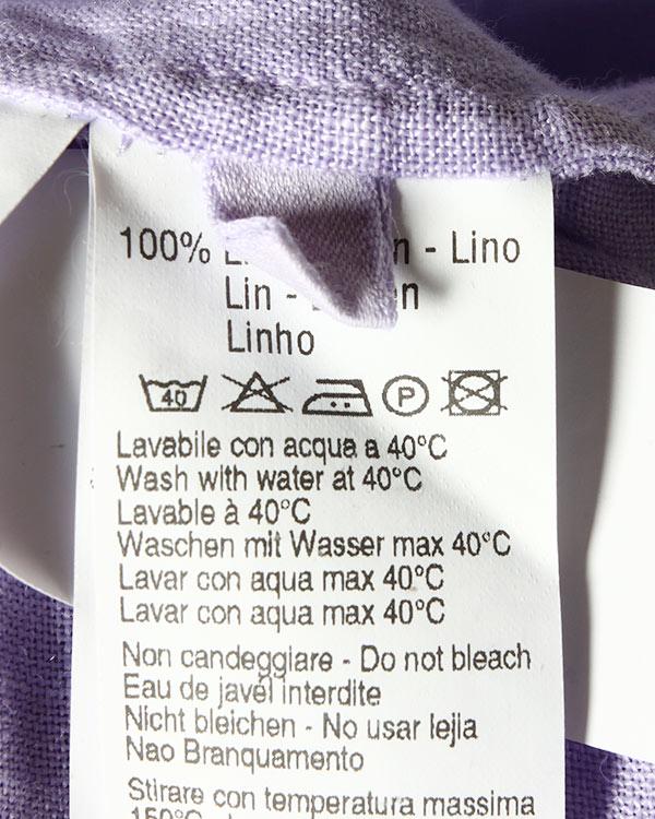 женская рубашка 120% lino, сезон: лето 2015. Купить за 5700 руб. | Фото 5