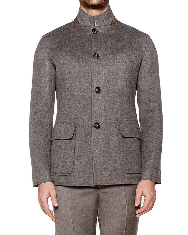 пиджак приталенного кроя из вирджинской шерсти артикул 117601 марки Cortigiani купить за 102500 руб.