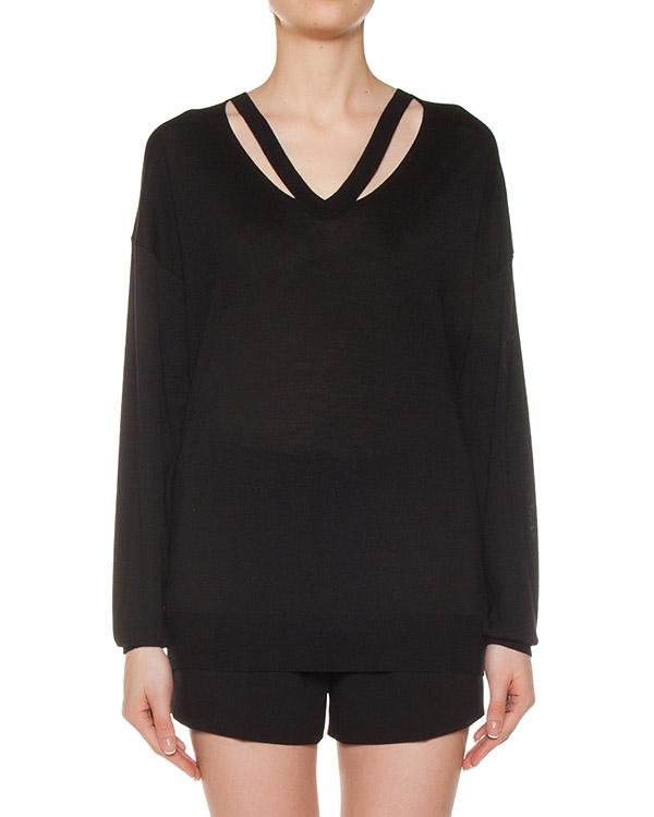 пуловер из мериносовой шерсти артикул 119070 марки Alexander Wang купить за 30100 руб.