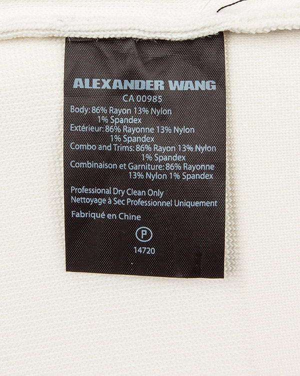 женская топ Alexander Wang, сезон: лето 2016. Купить за 15800 руб. | Фото $i