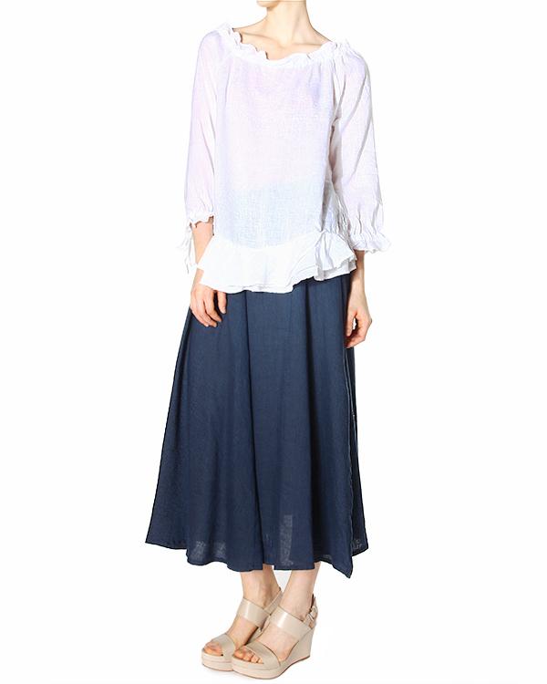 женская блуза 120% lino, сезон: лето 2015. Купить за 6400 руб. | Фото 3