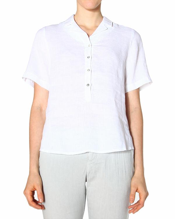 женская блуза 120% lino, сезон: лето 2015. Купить за 5300 руб. | Фото 1