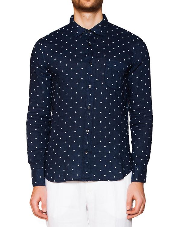 мужская рубашка 120% lino, сезон: лето 2016. Купить за 7800 руб. | Фото 1