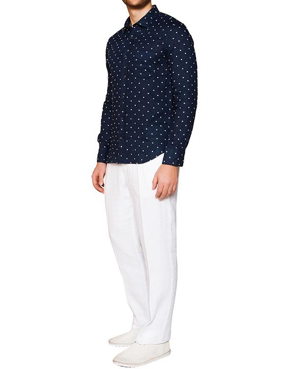 мужская рубашка 120% lino, сезон: лето 2016. Купить за 7800 руб. | Фото 3