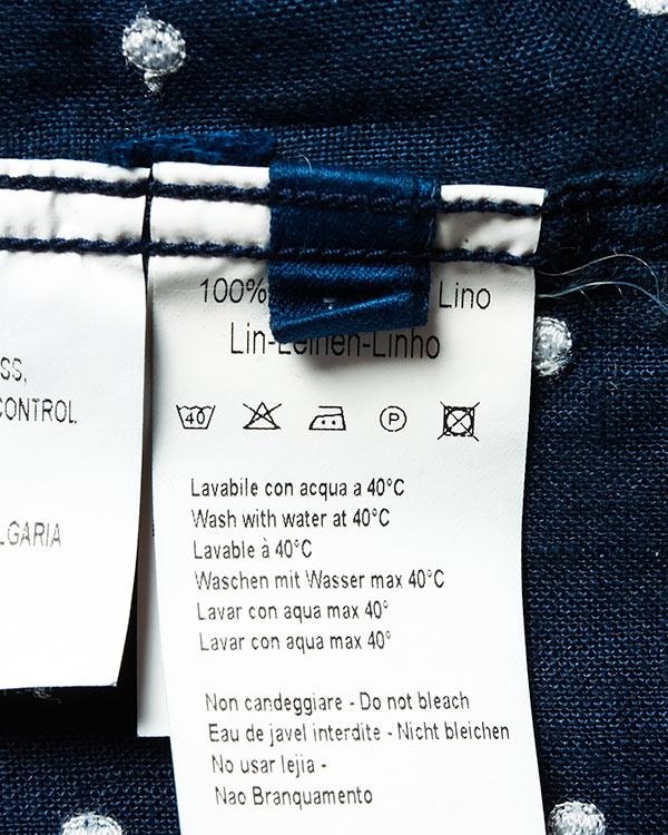 мужская рубашка 120% lino, сезон: лето 2016. Купить за 7800 руб. | Фото 5