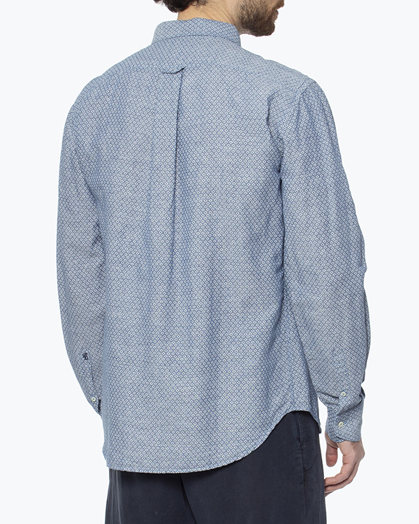 мужская рубашка 120% lino, сезон: лето 2016. Купить за 6600 руб. | Фото 4