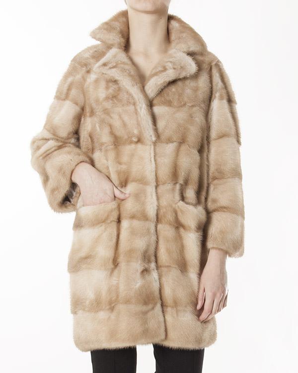 женская мех.пальто Manzoni, сезон: зима 2012/13. Купить за 226200 руб. | Фото 1