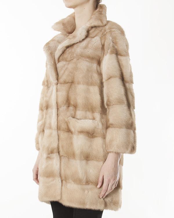 женская мех.пальто Manzoni, сезон: зима 2012/13. Купить за 226200 руб. | Фото 2