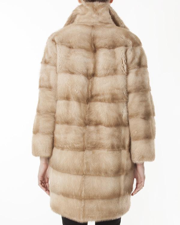 женская мех.пальто Manzoni, сезон: зима 2012/13. Купить за 226200 руб. | Фото 3