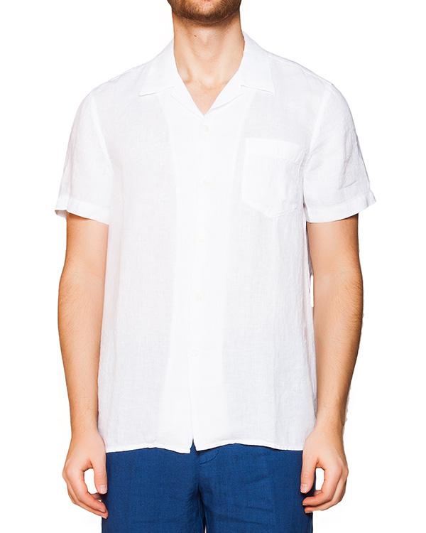 рубашка из легкого льна артикул 1320B317-001 марки 120% lino купить за 3500 руб.