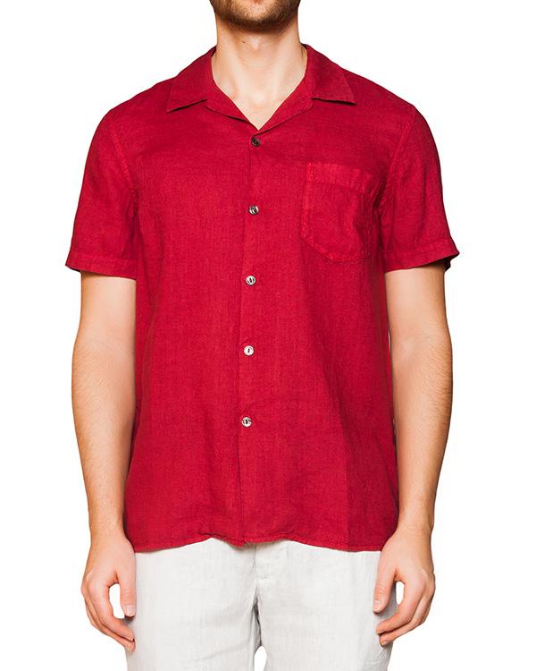 рубашка из легкого льна артикул 1320B317-001 марки 120% lino купить за 5100 руб.