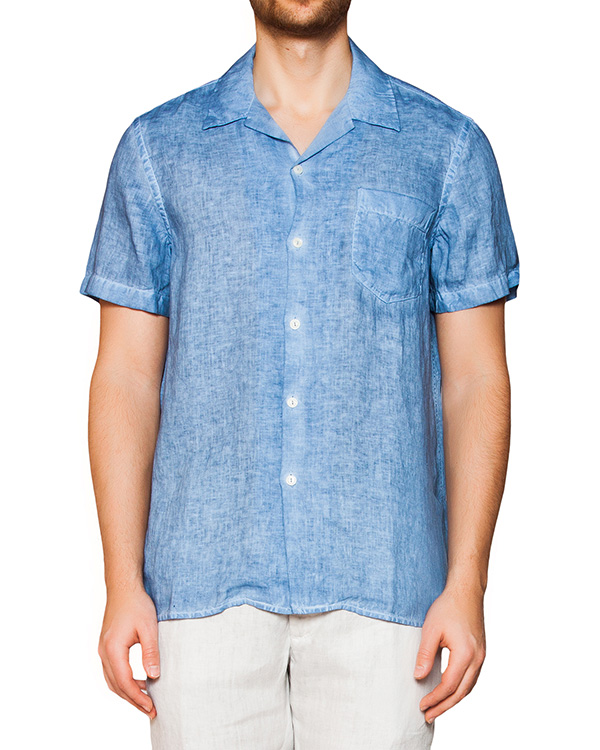 мужская рубашка 120% lino, сезон: лето 2016. Купить за 10300 руб. | Фото 1