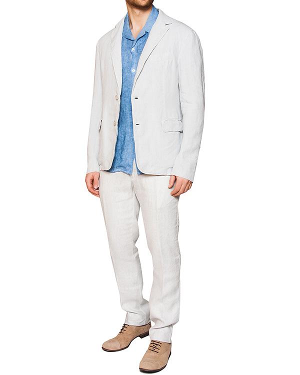 мужская рубашка 120% lino, сезон: лето 2016. Купить за 10300 руб. | Фото 3