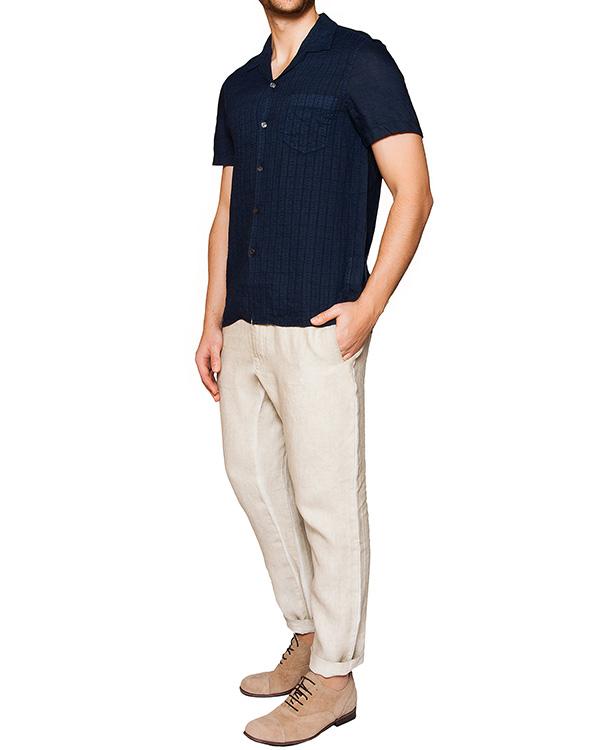 мужская рубашка 120% lino, сезон: лето 2016. Купить за 14500 руб. | Фото 3