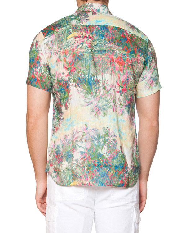 мужская рубашка 120% lino, сезон: лето 2015. Купить за 7500 руб. | Фото 2