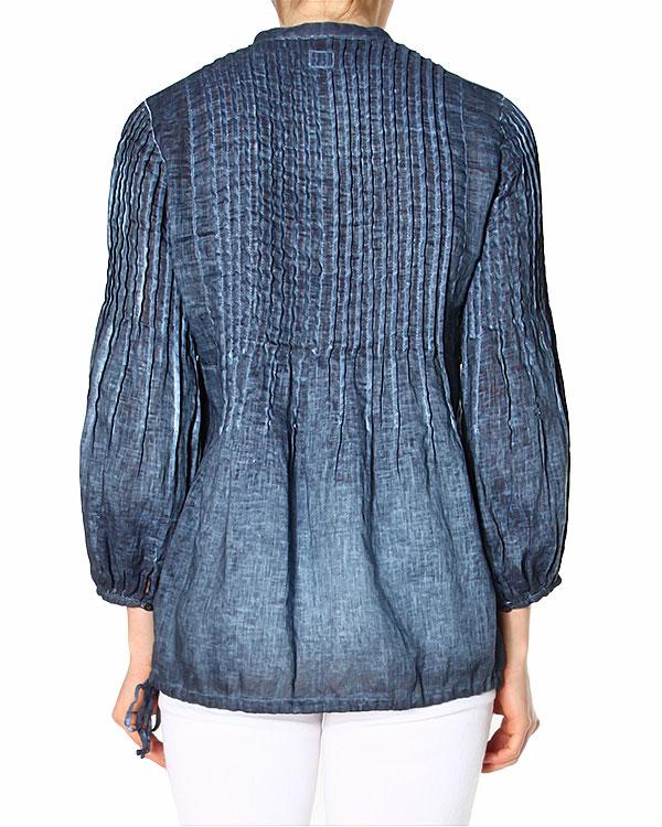 женская блуза 120% lino, сезон: лето 2015. Купить за 6600 руб. | Фото 2