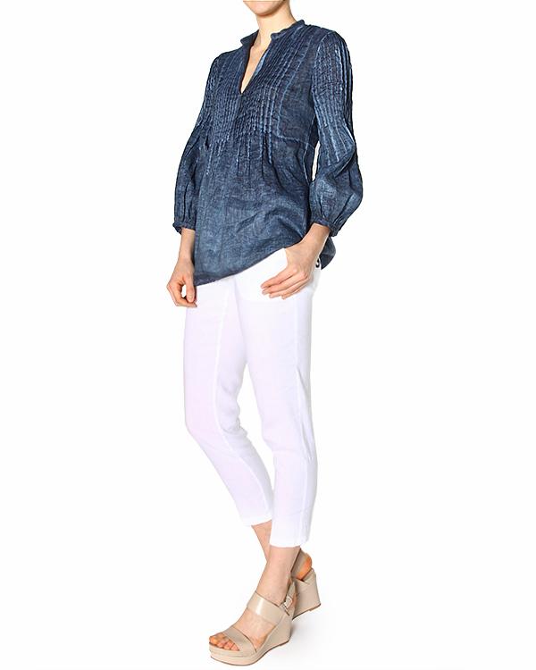 женская блуза 120% lino, сезон: лето 2015. Купить за 6600 руб. | Фото 3