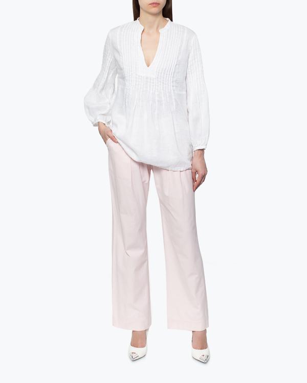 женская блуза 120% lino, сезон: лето 2015. Купить за 6300 руб. | Фото 2