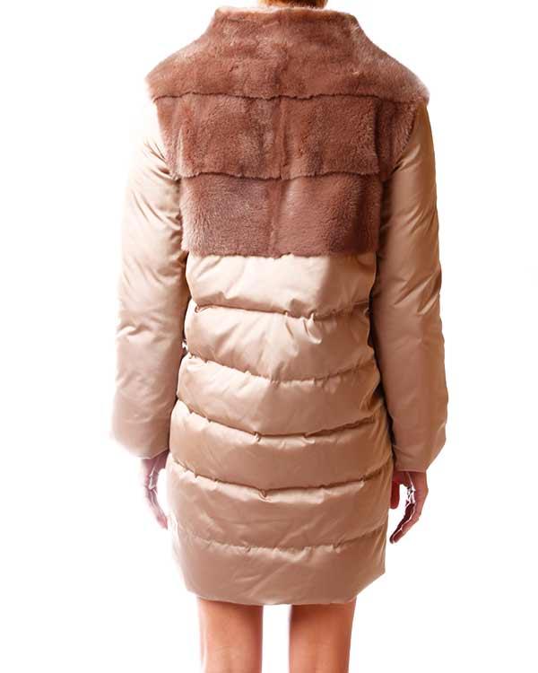 женская пуховик Manzoni, сезон: зима 2013/14. Купить за 78000 руб. | Фото 3