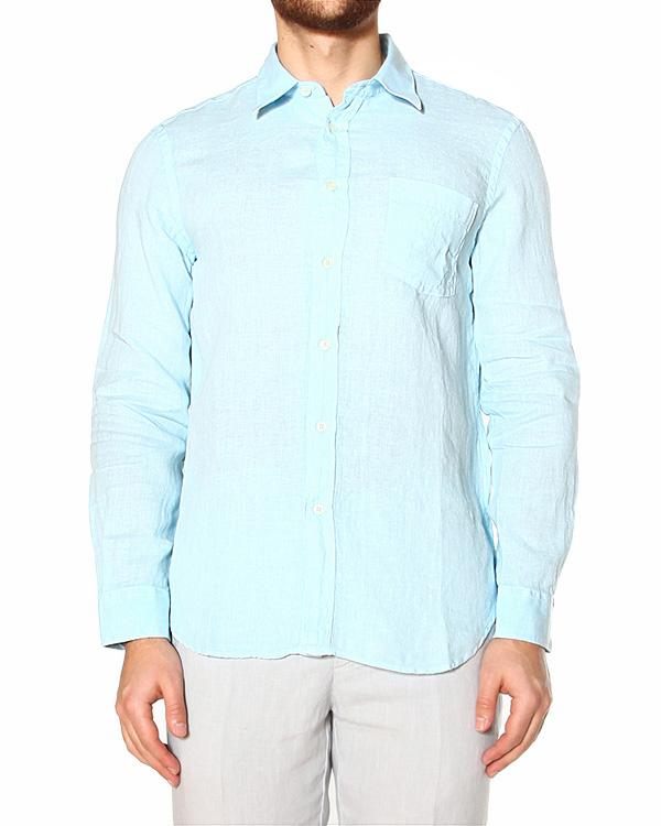 мужская рубашка 120% lino, сезон: лето 2015. Купить за 5200 руб. | Фото 1