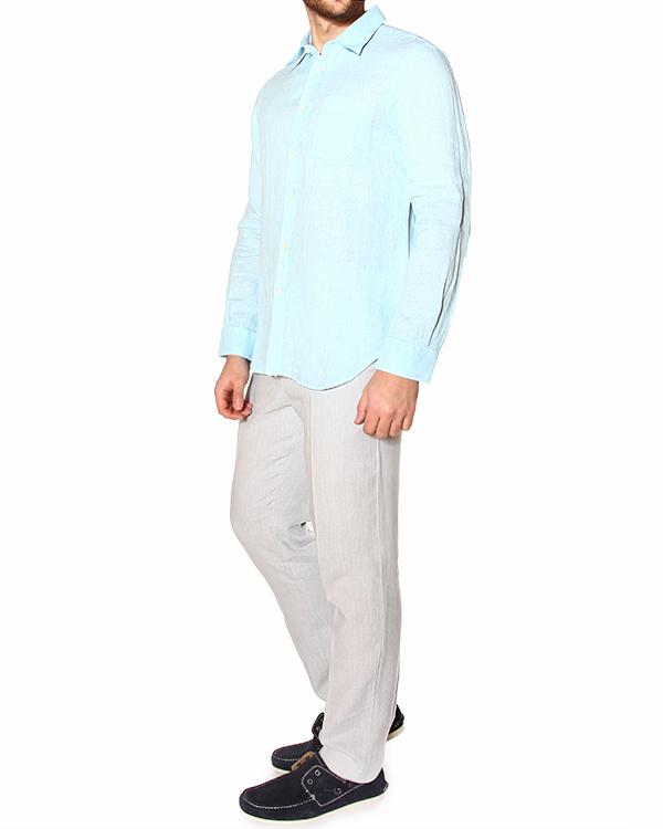 мужская рубашка 120% lino, сезон: лето 2015. Купить за 5200 руб. | Фото 3