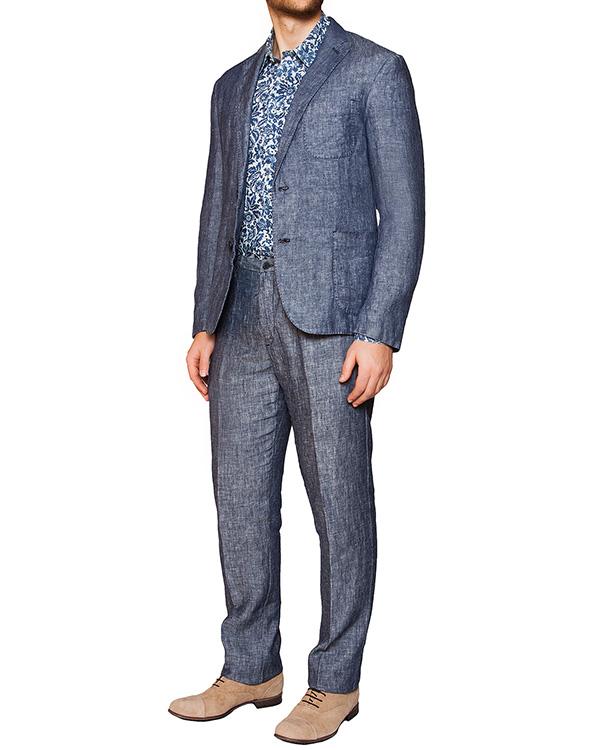 мужская рубашка 120% lino, сезон: лето 2016. Купить за 6600 руб. | Фото 3
