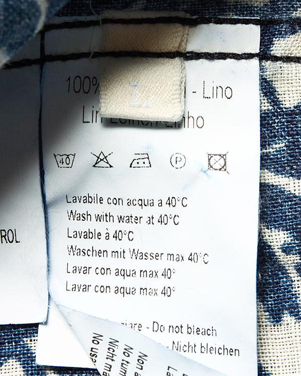 мужская рубашка 120% lino, сезон: лето 2016. Купить за 6600 руб. | Фото 5
